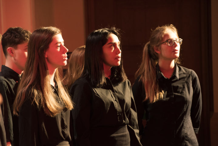 Magdalen College School Sixth Form pupils studying A-level Music