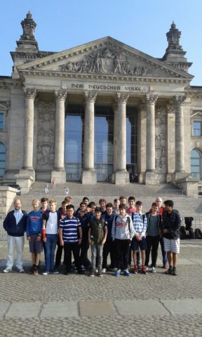Magdalen College School pupils on excursion to Berlin