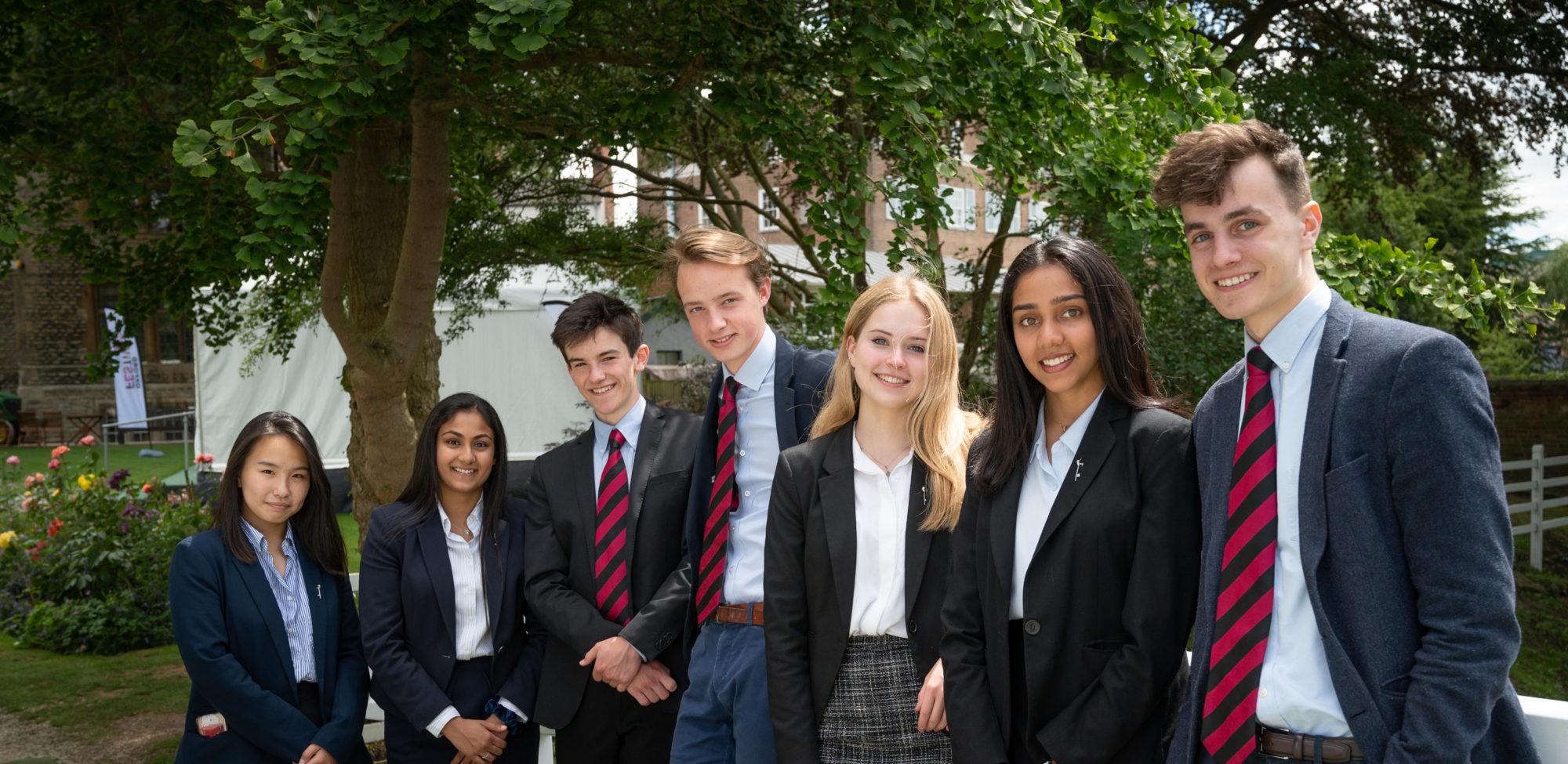 Magdalen College School Sixth Form students in Oxford