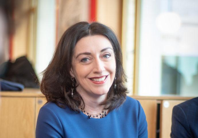 Helen Pike, head teacher Magdalen College School Oxford