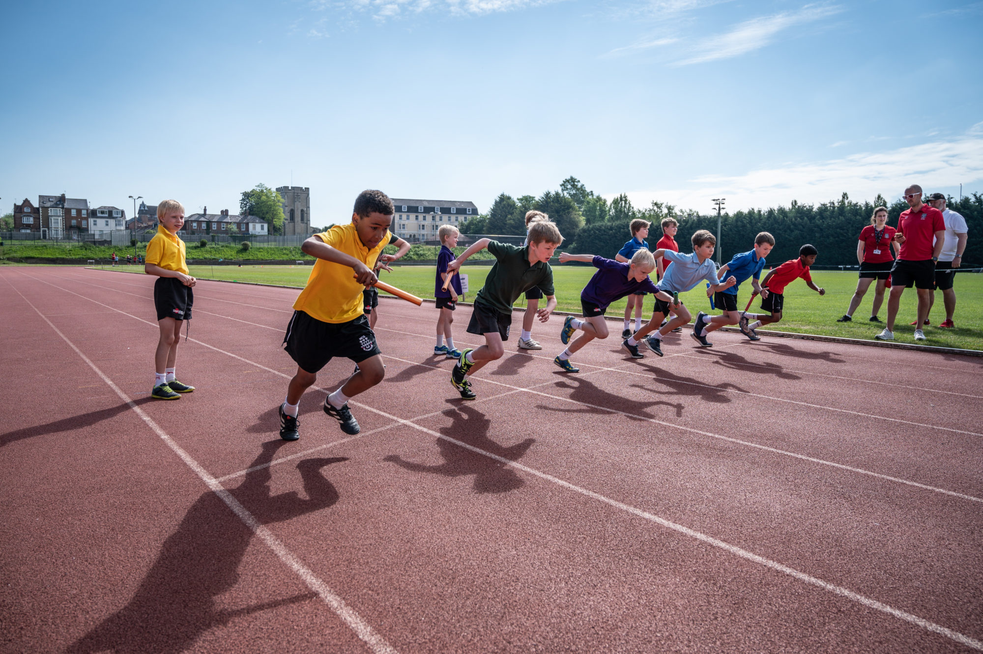 Magdalen College Junior School Sports Day