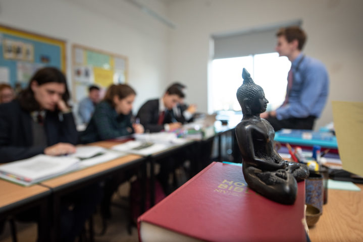 Magdalen College School Sixth Form pupils study A-level Theology in Sixth Form