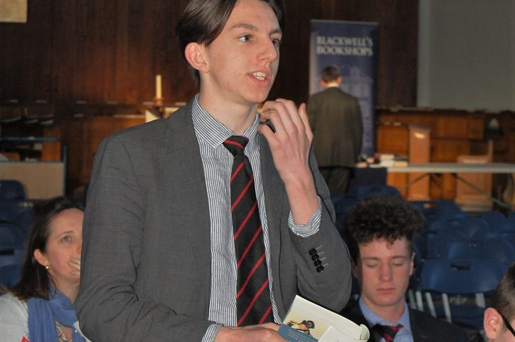 Magdalen College School Pupil Speaking At History Conference 2020