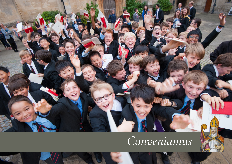 Magdalen College School pupils celebrate Conveniamus Bursary Fundraising Campaign