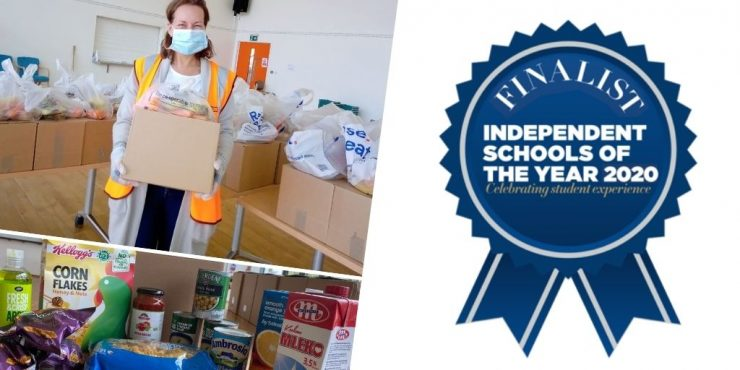Magdalen College School ISI Community Larder Outreach Finalists Montage