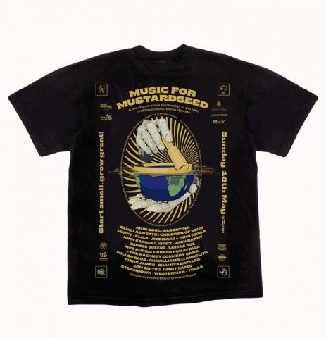 Music for Mustardseed t-shirt